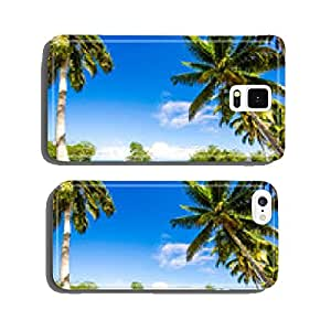 Caribbean: Lonely beautiful beach :) cell phone cover case Samsung S6