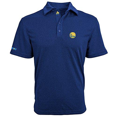 Levelwear LEY9R NBA Golden State Warriors Men's Affirmed Dart Polo, Ultramarine, Small