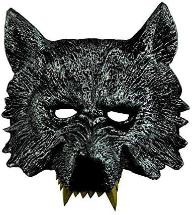 ZengBuks Máscara de Cabeza de Lobo Feroz de Halloween Serie ...