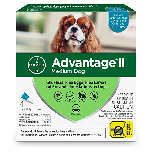 Bayer Advantage II Topical Flea Treatment Dogs by Bayer Animal Health (Image #1)