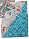 24'' X 100' #x6339 Snowplay (Rever) - Gift Wrap Christmas
