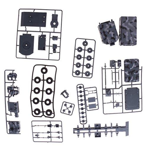 Dovewill プラスチック製 模型 トラック 車両 おもちゃ 子供 親子ゲーム 玩具 贈り物 全3種類選べる - 01