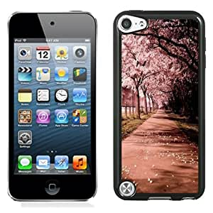 Beautiful Designed Case For iPod 5 Phone Case With Sakura Trees Phone Case Cover