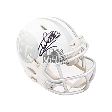 Image Unavailable. Image not available for. Color  Derrick Henry Autographed  Helmet - Ice Mini COA - JSA Certified - Autographed NFL ... 88cbacfd3