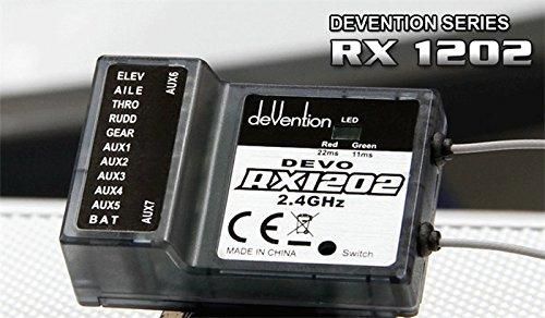 Walkera DEVO RX1202 12 Channel Receiver 2.4Ghz 12CH For Walkera DEVO Transmitter 2