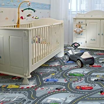 Kinder Teppichboden Disney Cars Grau Auslegware Kinder