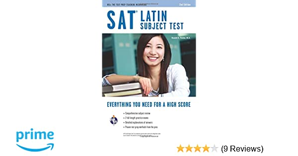 Amazon sat subject test latin sat psat act college amazon sat subject test latin sat psat act college admission prep 9780738610764 ronald b palma ma books fandeluxe Image collections
