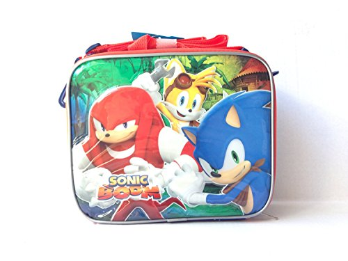 (New Sonic Boom Green Lunch Bag/lunch Box)