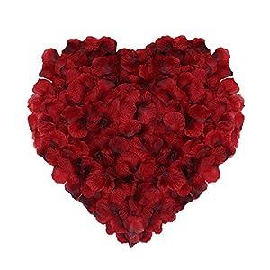 Naler Artificial Flowers Silk Rose Petals Home Party Ceremony Wedding Decoration 2000Pcs 1
