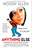 Anything Else - DVD -Woody Allen with Woody Allen and Jason Biggs .