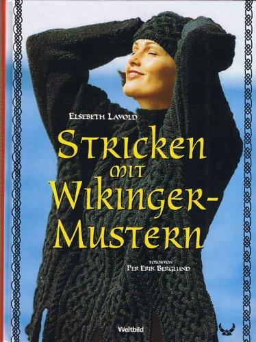 Stricken mit Wikinger-Mustern