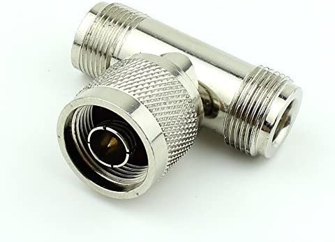 USA Seller N Double Male Adapter QTY 5