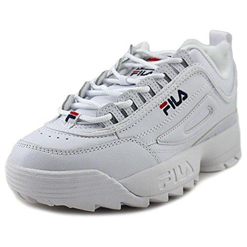 Fila Womens Disruptor II Premium White/Filacnavy/Fila Red looking for cheap price uH4Jpg4gZ0