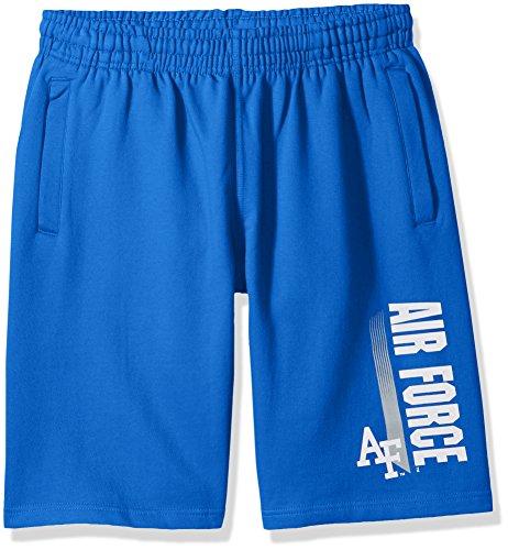 - NCAA Air Force Falcons CVC Fleece Shorts, Royal Blue, Medium
