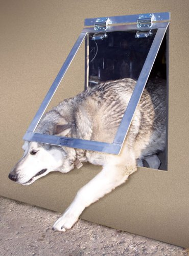 Big Dog Door (clear flap) (28H x 18W x 1D) by Gun Dog by Gun Dog House Door