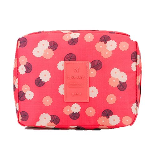 Teresamoon Travel Bag Cosmetic Bag Makeup Storage Bag (F)
