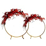 Bling-Bling-Case-Wedding-Props-Wrought-Iron-Round-Ring-Arch-Wall-Artificial-Flower-Decoration-Home-Holiday-Celebration-Wedding-Photography-ShelfGold15M