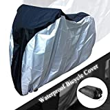 2win2buy Durable Bicycle Cover 75''26''39 ''Waterproof Snowproof Dustproof Sun Block Outdoor Bike Cover for Mountain Bike, Electric Bicycle,Multiple Kids' Bike and motorcycle
