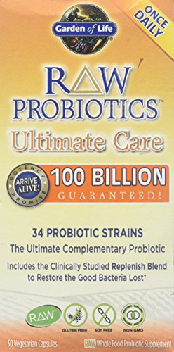 Ultimate Care - Garden of Life - Raw Probiotics Ultimate Care, 100 billion, 30 veggie caps
