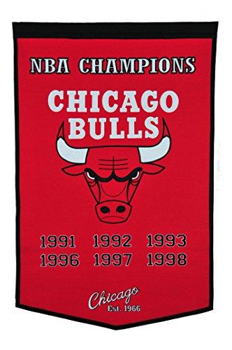 Winning Streak NBA Chicago Bulls Dynasty Banner