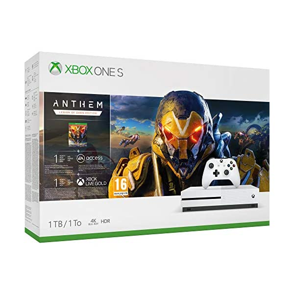 Videoentity.com 51es2gfsQmL Xbox One S 1TB Console - Anthem Bundle (Xbox One)