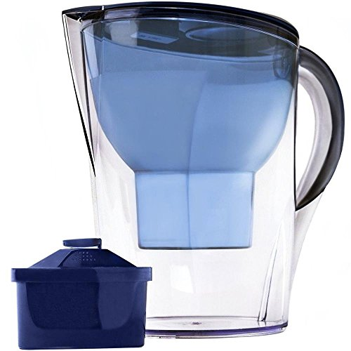 Lake Industries Premium Great Tasting Alkaline Water Pitcher with Filter