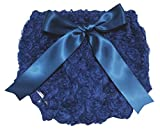 Petitebella Dress Floral Rose Navy Blue Blue Bloomer for Baby 6-24m (One Size)