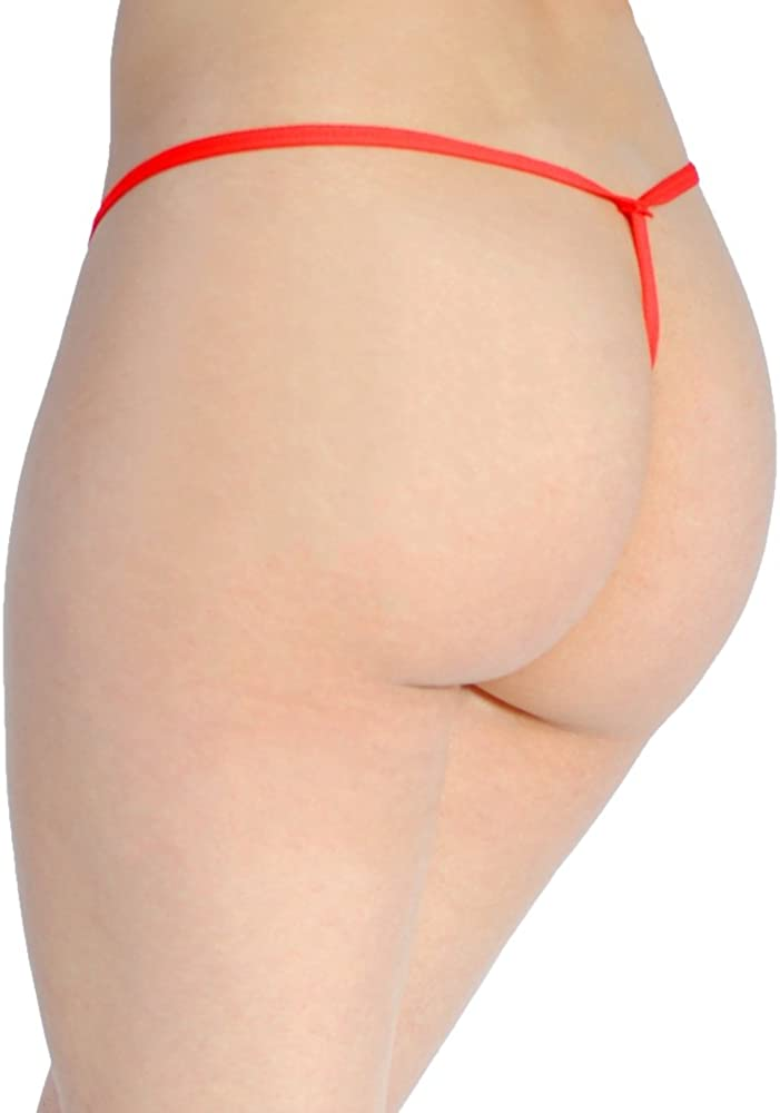 Prestige Biatta Womens Red Floral Lace G-String Thong