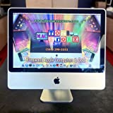 Apple iMac Aluminum Core 2 Duo E4400 2.0GHz 1GB 250GB DVD±RW Radeon HD 2400 20 AirPort OS X w/Webcam & Bluetooth