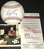 Eric Thames Milwaukee Brewers Autographed Signed Official Major League Baseball JSA WITNESS COA