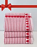 Kitchen Towels , Red Heart, Highly Absorbent, Low Review and Comparison