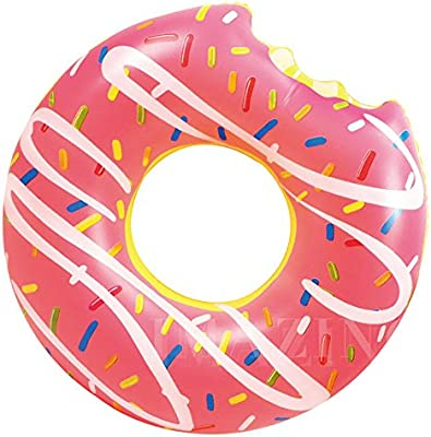 Ardisle – inflable Donut donuts Tubo flotador de piscina playa natación juguete Lilo flotador grande Jumbo