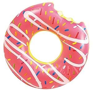 Ardisle–inflable Donut donuts Tubo flotador de piscina playa natación juguete Lilo flotador grande Jumbo