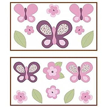 Sugar Plum by Cocalo Removable Wall Decals  sc 1 st  Amazon.com & Amazon.com : Sugar Plum by Cocalo Removable Wall Decals : Bedding ...