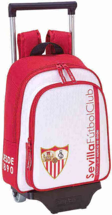 Safta Mochila Infantil Sevilla F.C. Oficial Con Carro Safta ...