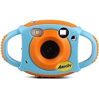 Docooler Cute Videocamera Bambini Digitale Max. 5 Mega Pixel Regalo di Natale Capodanno Presente per Bambini Ragazze