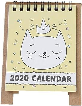 Calendarios de Pared Calendarios de Escritorio 2020 Tabla de ...
