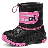 Kids Snow BootsBoys & GirlsWinterBoots Waterproof Cold Weather Outdoor Boots (Toddler/Little Kid/Big Kid) 19TXDK02-T32-22