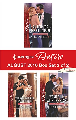 book cover of Harlequin Desire August 2016 - Box Set 2 of 2