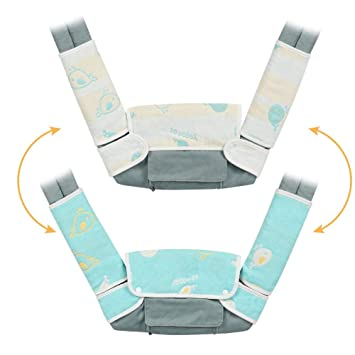 Gray Arrow Cross Design Premium 2 Packs Drool and Teething Reversible Cotton Pad Hypoallergenic Great Baby Shower Gift by Mila Millie Fits Ergobaby Four Position 360 and Most Baby Carrier