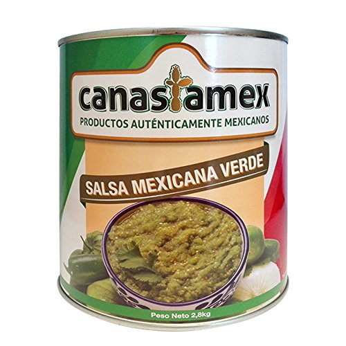 SALSA MEXICANA VERDE 2800g - CANASTAMEX