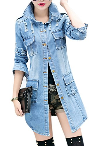 allbebe-womens-spring-casual-lapel-slim-long-sleeve-denim-outercoat-windbreaker