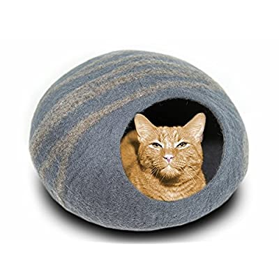 Cat Basket MEOWFIA Premium Cat Bed Cave (Large) – Eco Friendly... [tag]