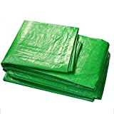 LIXIONG Tarpaulin Waterproof Heavy Duty Tent Sunscreen Cloth Anti-aging Sunscreen Lightweight Open Air Size Can Be Customized, 0.33mm (Color : Green, Size : 2.8x3.8m)