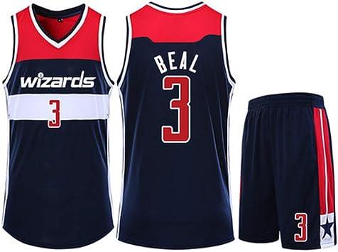 Camiseta de Baloncesto para Hombre Bradley Beal Washington Wizards ...