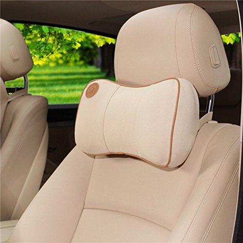 ACECLUB Comfortable Memory Foam Car Neck Pillows Lumbar Pillows For BMW Car Seat