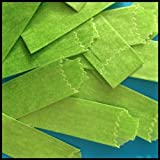Vellum Glassines Stamp Wax Paper 600 Waxed Bags Choose A Color Or Design (Green 27 mm)