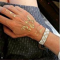 Famoso Festival Luxe Oro Tatuajes por Melanie Sykes - oferta de ...