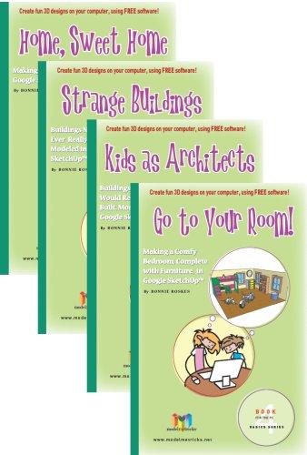 Download ModelMetricks Basics Series (For the PC): 4 Book Set of SketchUp Design Books for Kids ebook