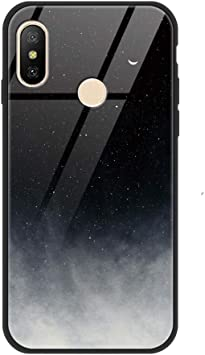 ZhuoFan Funda Xiaomi Mi A2 Lite, Cárcasa Silicona Cristal Templado ...